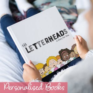 Personalised Books | Little People | The Letteroom
