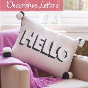 Decorative Letters | Personalised | The Letteroom
