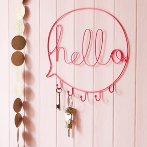 Neon Pink Speech Bubble Hooks