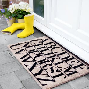 Alphabet Door Mat