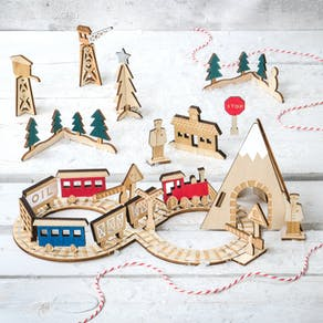 Advent Train Calendar