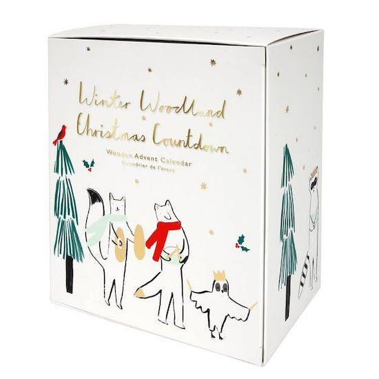 Advent Woodland Calendar