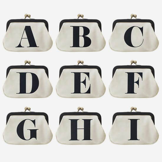 Alphabet Coin Purse