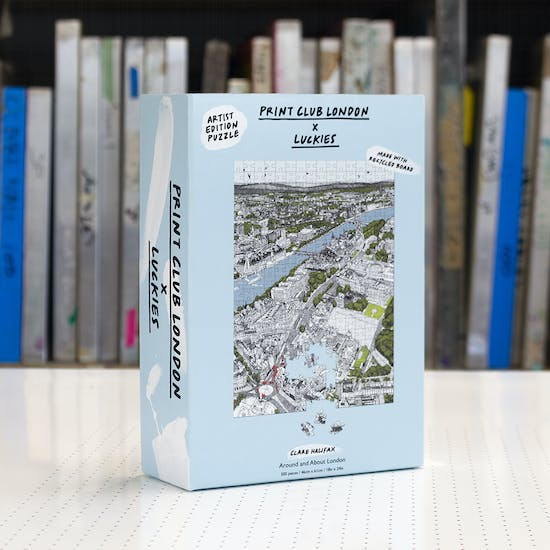 Around and About London Jigsaw Puzzle
