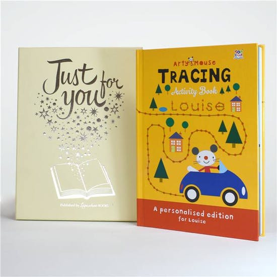Arty Mouse Tracing Activity Book