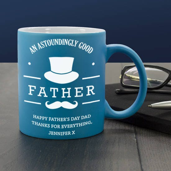 Blue Good Father Mug