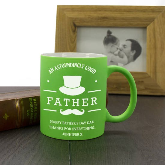 Green Good Father Mug
