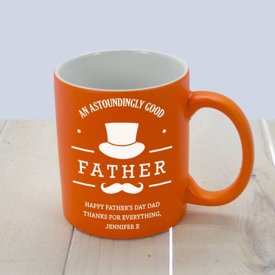 Orange Good Father Mug
