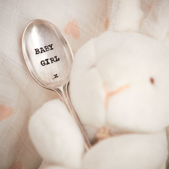 'Baby' Silver Plated Vintage Spoon