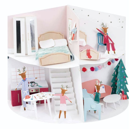 Build Your Own Christmas Advent House