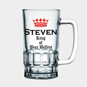 Personalised Beer Tankard
