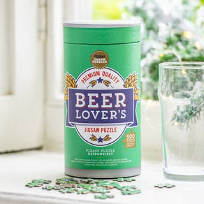 Beer Lover's Jigsaw