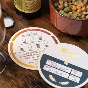 Beer Mat Tasting Notes