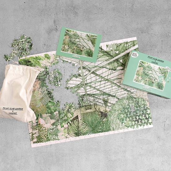 Barbican Conservatory Jigsaw Puzzle