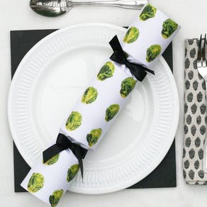 Brussel Sprout Christmas Crackers