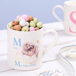 Beatrix Potter Mug With Mini Eggs