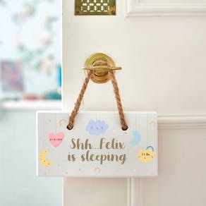 Personalised Nursery Wooden Sign