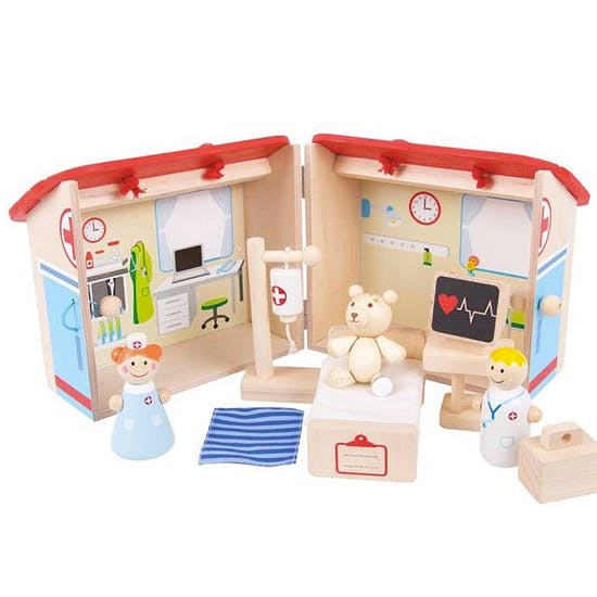 Carry Around Wooden Playsets