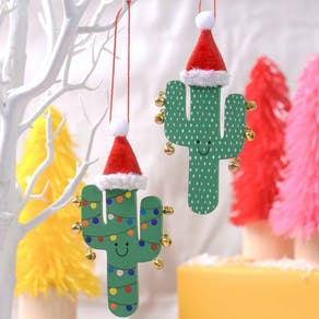 Fiesta Cactus Christmas Tree Decoration