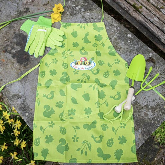 Childs Personalised Garden Apron
