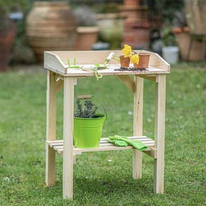 Childs Wooden Potting Table