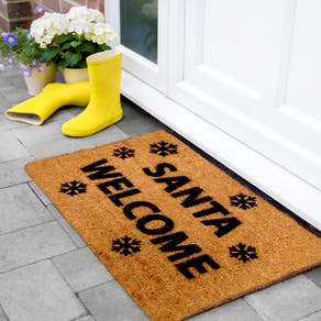 Santa Welcome Christmas Doormat