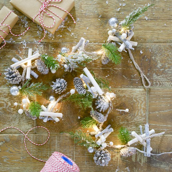 Christmas Foliage LED Fairy Lights