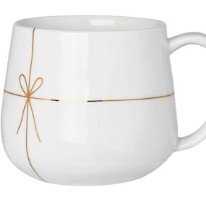 Christmas Parcel Fine Bone China Mug