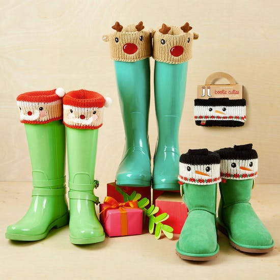 Christmas Welly Cuffs