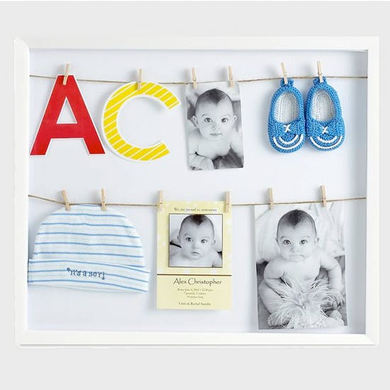 Clothes Line Photo Display Frame