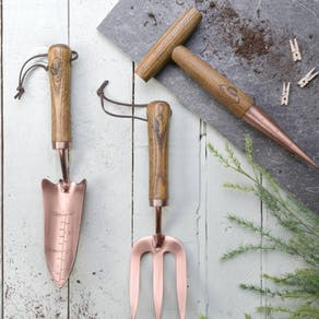 Mini Copper Garden Tools