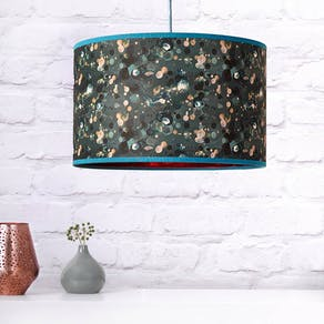Copper Patterned Lampshade