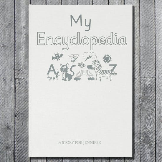 Personalised Luxury Embossed Encyclopedia