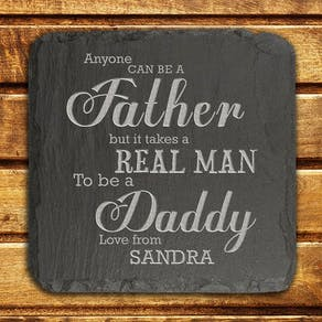 Daddy Slate Tile Keepsake