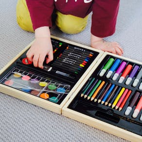 Personalised Children's Colouring In Box Set