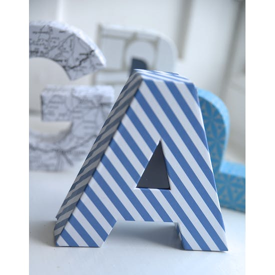Alphabet Shaped Gift Boxes