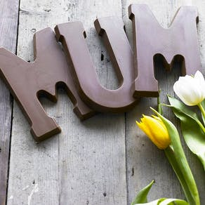 Giant Dutch Chocolate Letter