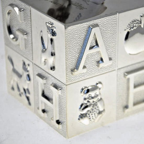 Engraved ABC Money Box