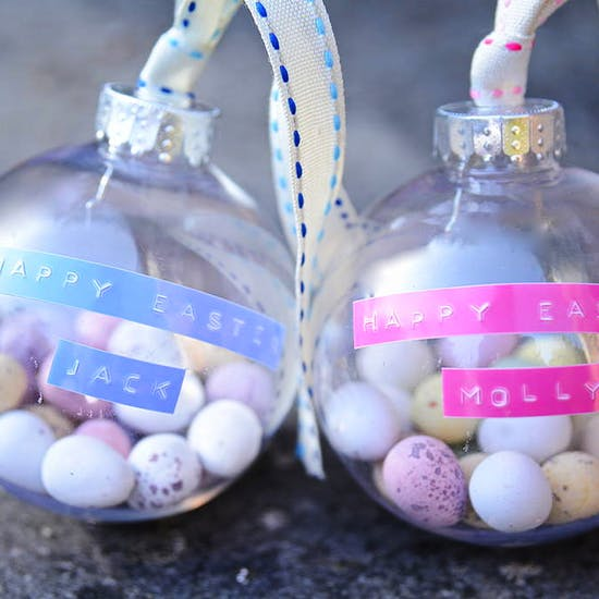 Personalised Easter Egg Bauble