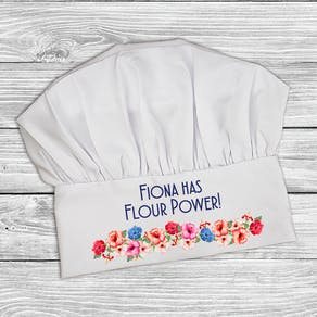 Flour Power Chef Hat