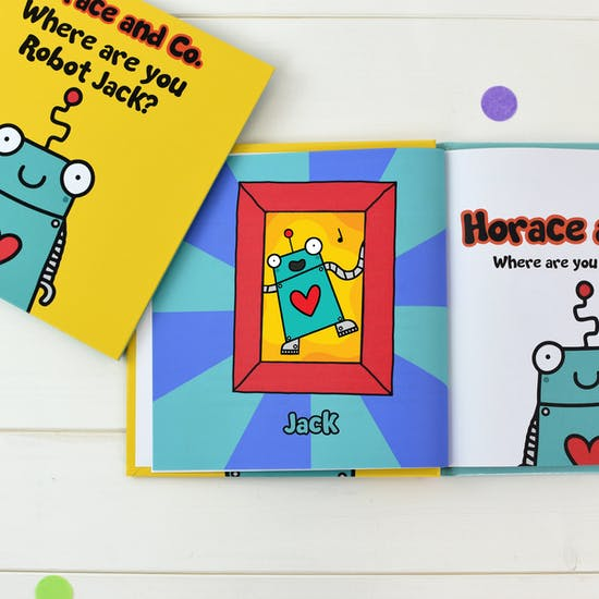 Flossy and Jim Personalised Story Books