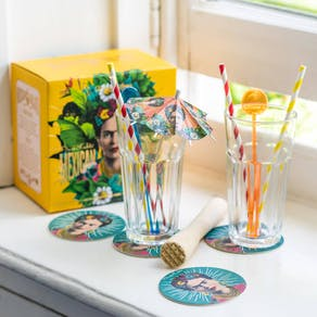 Frida Kahlo Mojito Cocktail Set