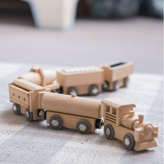 Freight Wooden Train