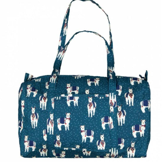 French Designer Patterned Fabric Baby Bag