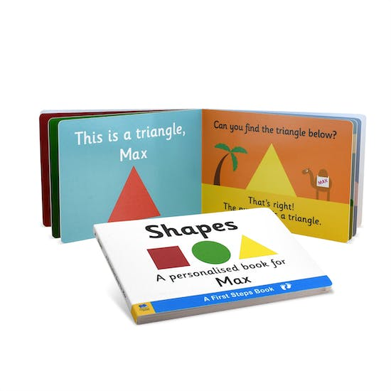 First Steps Book of Shapes