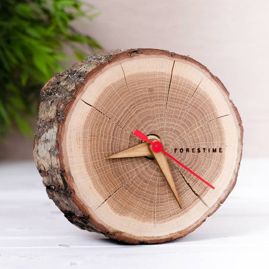 Freestanding Forest time Clock