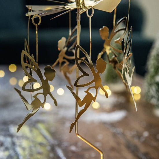 Fairy Spinner Candle Christmas Decoration
