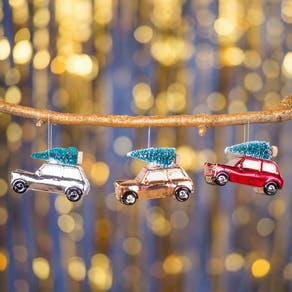 Festive Mini And Tree Christmas Ornament