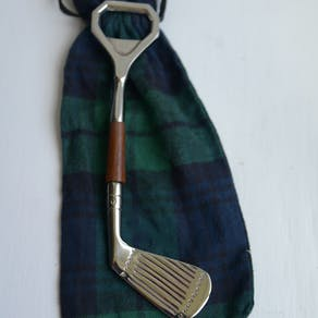 Golf Club Shaped Bottle Opener