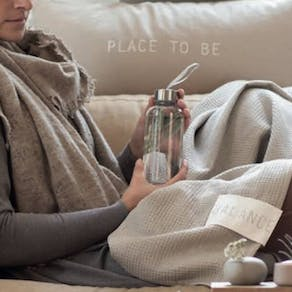 Glass Travel Bottle For Body And Soul